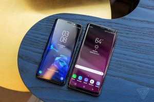 Differences between Samsung Galaxy S8 annd S9