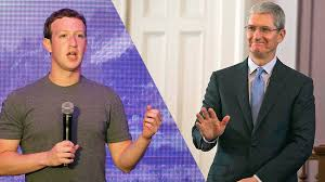 Zuckerberg Vs Cook