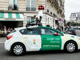 google camera-equipped cars