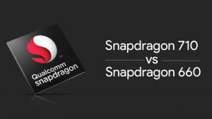 snapdragon 660 vs 710