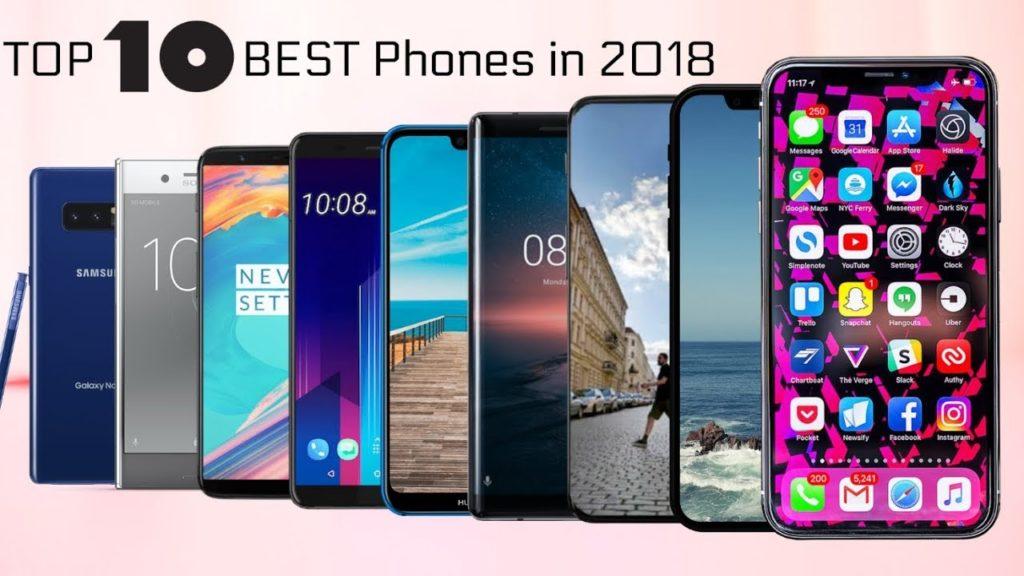 Top Mobile phones 2018